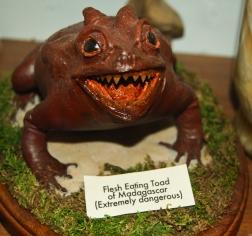 Flesh eating toads