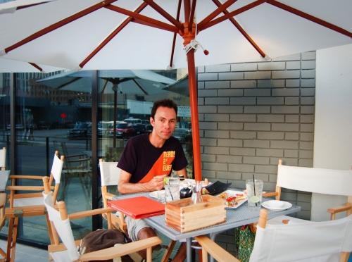 Steve at Piranha Killer Sushi
