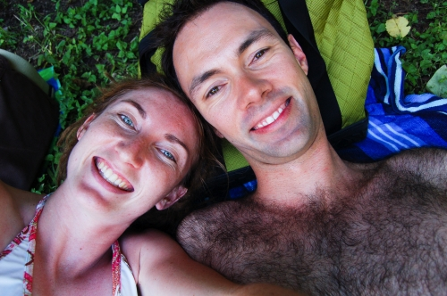 Us at Barton Springs