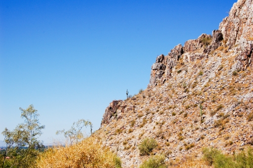 bottom of Piestewa Peak