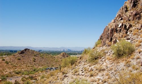 Piestewa Peak and Phoenix