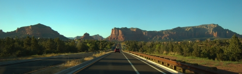 Sedona and Red Rock mountains