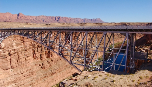 Old Navajo bridge