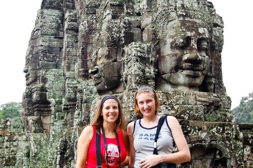Mary & I, Angkor Wat