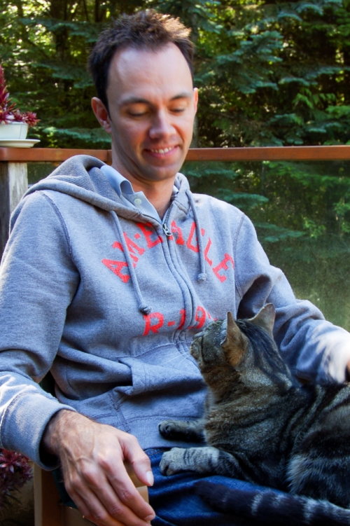 Steve and Whiskers