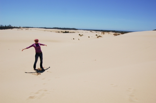 Me and the big desert of dunes