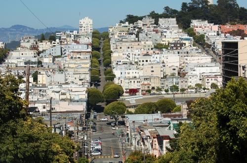 San Francisco typical neighbourhood