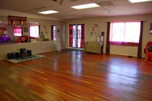 Tracy's studio
