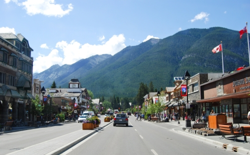 Downtown Banff