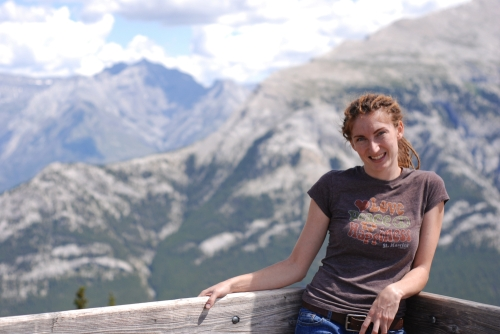 Me at the top of Sulphur Mountain