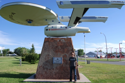 Steve and the Starship Enterprise