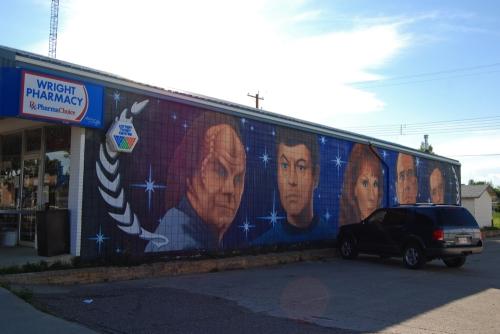 Doctors mural