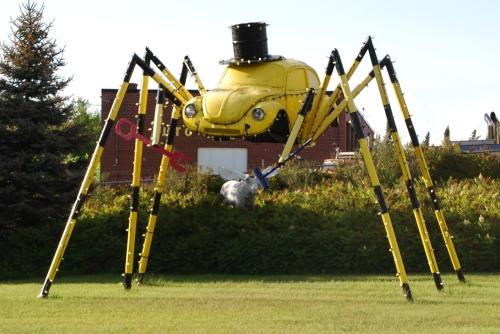Giant VW spider