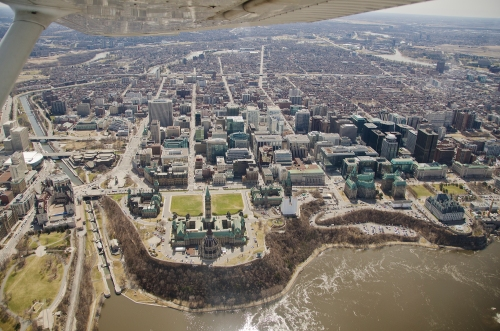 Parliament and downtown Ottawa