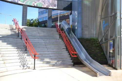 Slide/stair combo