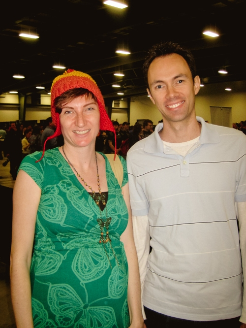 Me sporting the Jayne hat with Steve at Comic Con